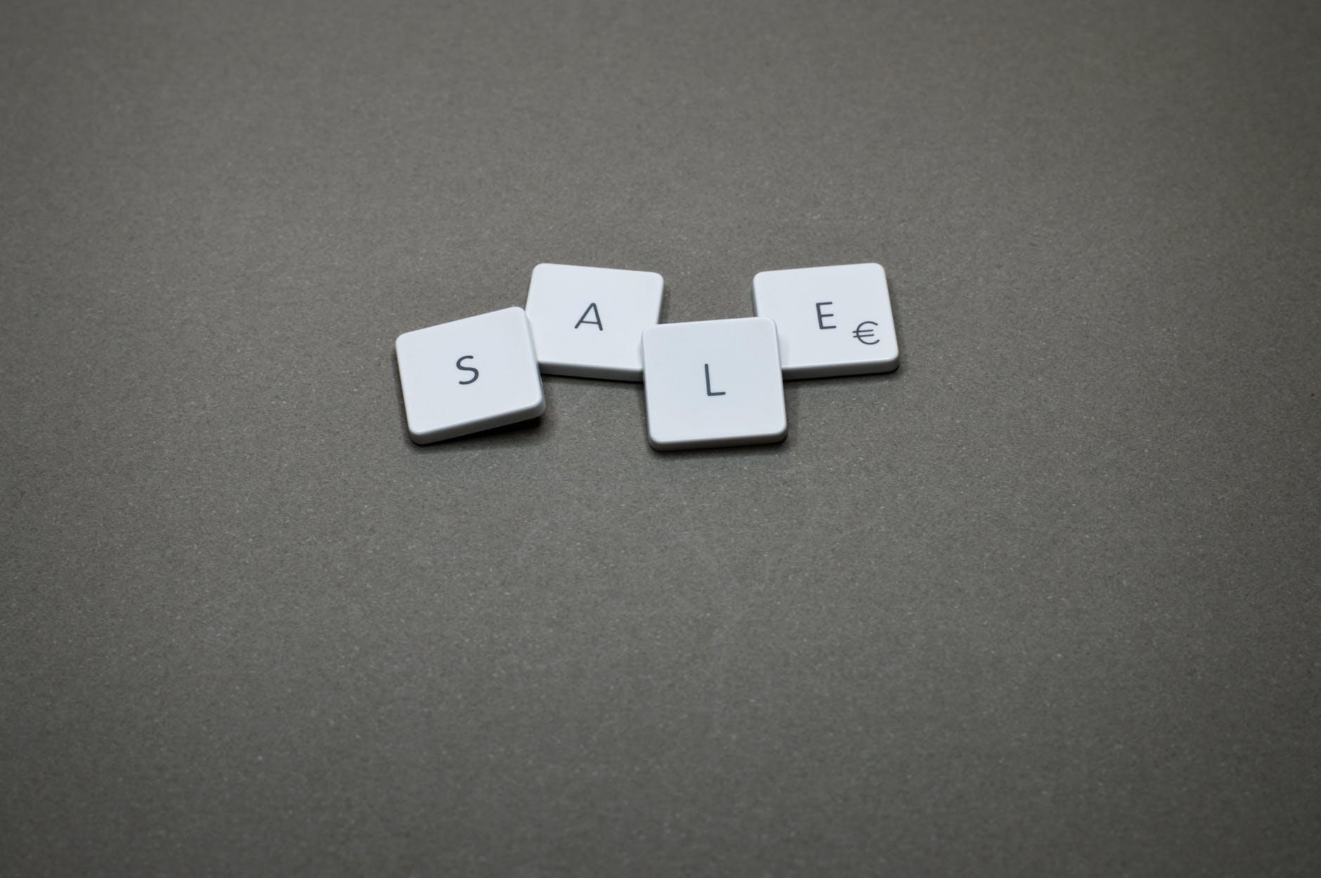Lettres d'un clavier